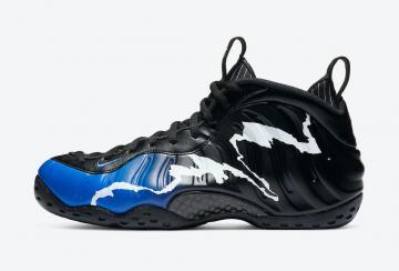 Nike Foamposite One Concord Black White Men US Size 13 ...