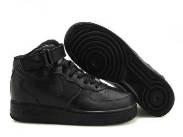 bcaf53df62c Nike Air Force 1 High Black Unisex Casual Shoes 315121-032