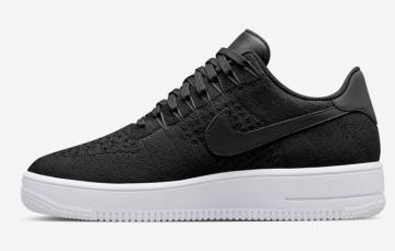 173100f47490f Nike Air Force 1 Ultra Flyknit Low Black All Black NSW HTM Lifestyle Shoes  817419-005