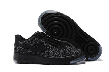 e90f1498072 Nike Air Force 1 Ultra Flyknit Low Black Dark Grey White NSW HTM Lifestyle  Shoes 817419-004