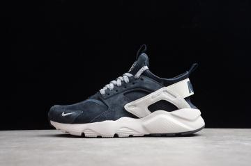be7151209850 Nike Air Huarache Run Ultra Midnight Navy Grey White 829669-402