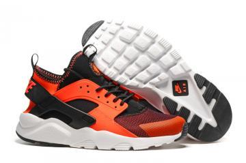 new product cf708 87feb Nike Air Huarache Run Ultra Total Crimson Black Men Running Shoes 819685-008