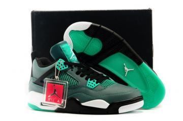2a47caa93 Nike Air Jordan 4 IV Retro 30TH Teal White Black Retro Basketball Mens Shoes  705331 330
