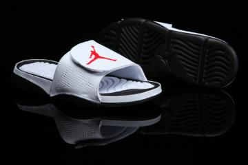 bb91701bdfc Nike Jordan Hydro 6 white black red men Sandal Slides Slippers 820257-121