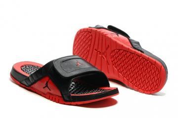 db25b8e052e Nike Jordan Hydro XII Retro Men Sandals Slides Flue Game Black Red  820265-001