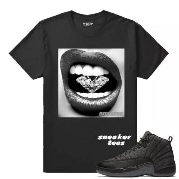 newest b51f6 85fbe T-shirt matching Wool 12 Jordans webp