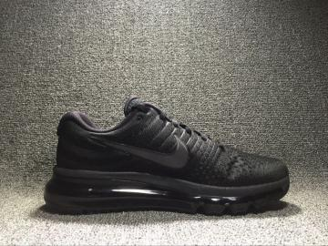 outlet store a6c2d 54d94 Nike Air Max 2017 Black Anthracite Womens Reflective Shoes 849560-004