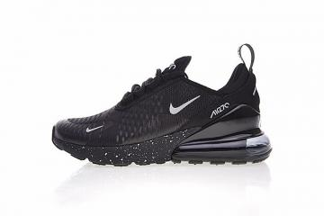 96cc10e62b Nike Air Max 270 All Black Noire Sports Running Shoes AH8050-202