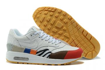 buy online 3b43d ecd23 Nike Air Max 1 Master 30th Anniversary Shoes Lifestyle Unisex White Brown