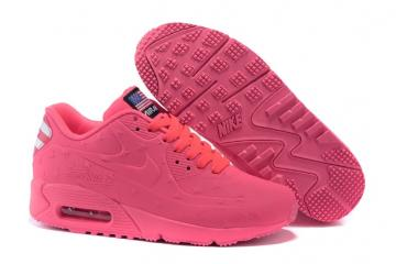 c2958abcf3 Nike Air Max 90 VT USA Independance Day Women Shoes Watermelon Red Dot  472489-072