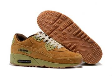 eac0d5e89aeca3 Nike Air Max 90 Winter PRM Men Women Trainers Sneakers Shoes Wheat Pack  683282-700