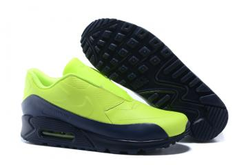 pretty nice ff672 38989 Nike Air Max 90 SP Sacai Women Running Shoes Volt Obsidian 804550-774