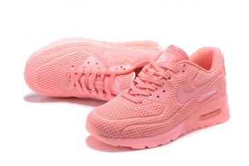 1707f95d2d WMNS Nike Air Max 90 Ultra BR Breathe Shoes Pink Blast 725061-600