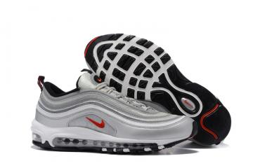 32943aa491 Nike Air Max 97 White Silver Grey Black Men Running Shoes Sneakers Trainers  312641-059