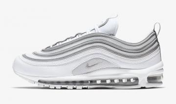 Most Popular Nike Air Max 97 GS Purple White 313054 160 Women's Running Shoes Trainers