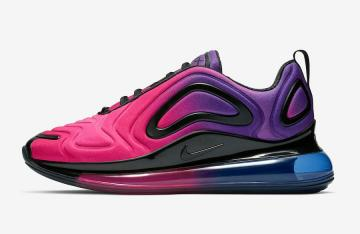 Nike Air Max 720 'Boys' BlackHyper Crimson Volt Releasing