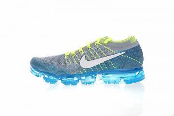 175e517c2c Nike Air Vapormax Flyknit Blue White Wolf Grey Chlorine 849558-022