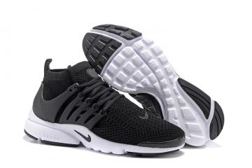 132454d7c184 Nike Air Presto Flyknit Ultra Black White Running Shoes Sneakers 835570-001
