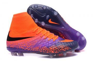 dee42f34e Nike Hypervenom Phantom II FG Floodlights Pack Soccers Football Shoes  Orange Purple
