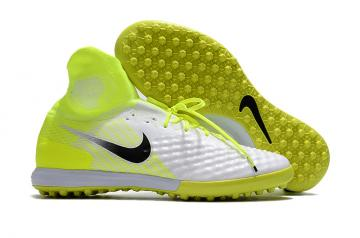 acc96d401 Nike MAGISTAX PROXIMO II TF ACC waterproof High help white Fluorescent  yellow men soccer