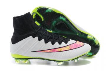 official photos 68004 c10de Nike Mercurial Superfly FG ACC Soccer Cleats White Black Volt Pink  641858-170