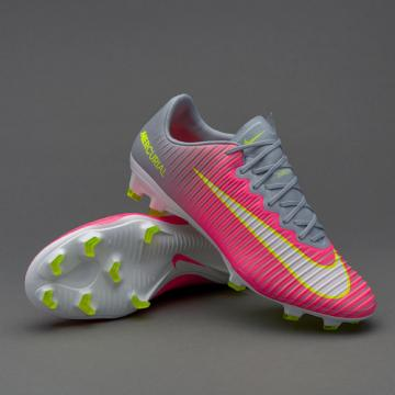 6806c45a37ff Nike Mercurial Superfly V FG pink grey white football shoes
