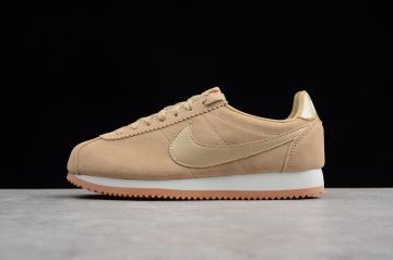 9be6a4f0ef3a8 Nike Classic Cortez Suede Mushroom Summit White Gum AA3839-200