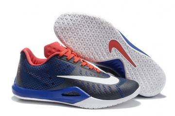 lowest price 95a5c 156c4 Nike Hyperlive EP Midnight Navy Blue White Red Men Basketball Shoes  Sneakers 820284-464