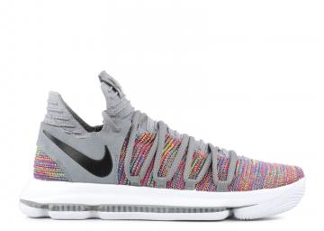 Nike KD 10 Multicolor Black Cool Grey 897815-900