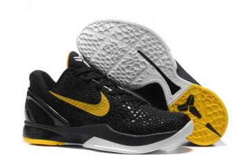 new style 54e1e 9ef94 Nike Zoom Kobe VI 6 Imperial Purple Yellow Men Basketball Shoes Lakers Asg  White LA ASG OG