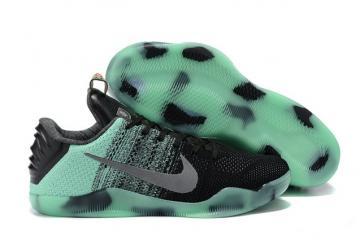 1e761b3a4be Nike Kobe 11 Elite Low All Star Green Glow Men Shoes Flyknit 822521 305