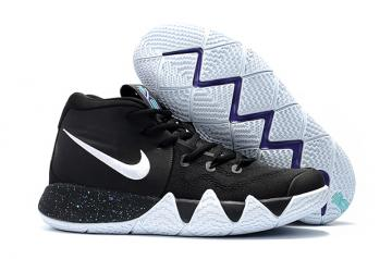 the latest 78df0 03431 Nike Zoom Kyrie 4 Men Basketball Shoes Black White