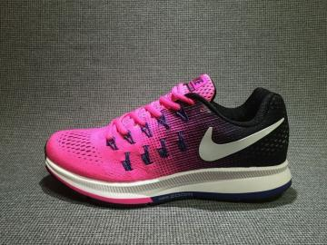uk availability d6451 62194 Nike Air Zoom Pegasus 33 Running Shoes Vivid Red Black 831356-600