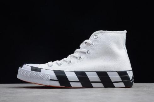 cohete tomar Derecho  Off White x Converse 2.0 White Black 163892C For Sale - Sepsale