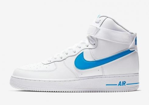 Nike Air Force 1 High 07 3 White Photo Blue White At4141 102 Sepsale