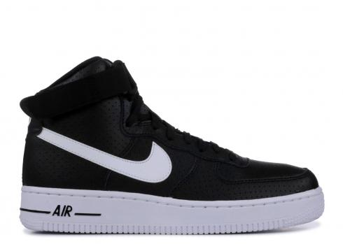 top design cheap for discount the best attitude Nike Air Force 1 High GS Black White 653998-010