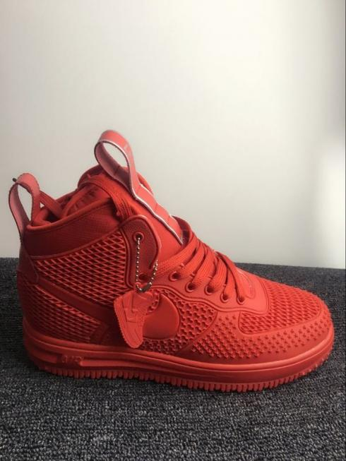 Nike Air Force 1 High KPU All Red Men Shoes