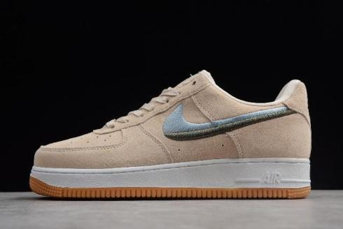 Nike Air Force 1 07 Lux Phantom Snakeskin White Casual Shoes