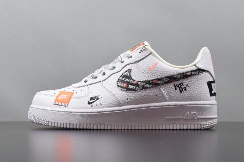 detailed look a860b 650db Nike Air Force 1 07 Premium Just Do It White AR7719-100