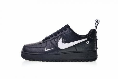Nike Air Force 1 Low 07 Utility Pack Black Tour Yellow White AJ7747 001