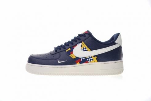 latest design cheap for discount look out for Nike Air Force 1 Low Nautical Redux Midnight Navy Sail Gym Red ...