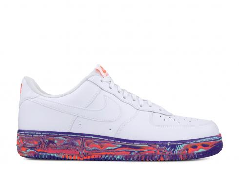 Nike Air Force 1 Low White Multi Color Marble AJ9507-100