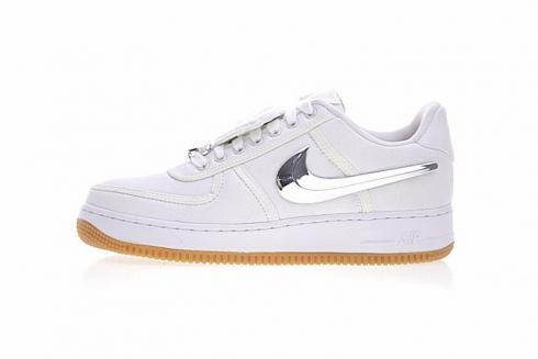 finest selection d147e 215ac Travis Scott x Nike Air Force 1 Low White AQ4211-100