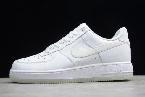 Nike Air Force 1 07 Essential White Sole Glow in the Dark Shoes AO2132 101