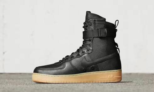 Nike Air Force 1 Special Field AF1 Black Light Brown 859202 009
