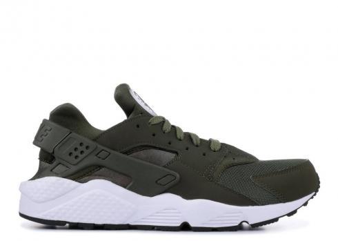 Nike Air Huarache Triple Black Blackout Men Women Shoes