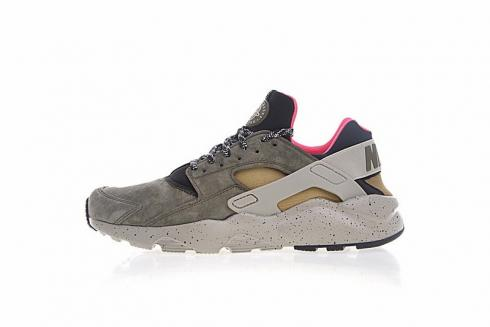 green and pink huaraches