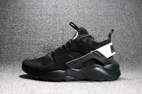 Defectuoso bombilla El aparato  Nike Air Huarache Ultra Run Flyknit Black White Unisex Shoes 752703-991 -  Sepsale