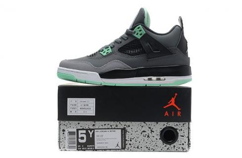 brand new af95a d2b1a Prev Nike Air Jordan Retro IV 4 Grey Green Glow Bred Cavs Fear Men Women  Shoes 626969