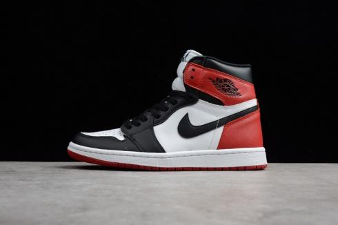 new product 071b2 dccf7 Nike Air Jordan 1 Retro High OG Black Toe 2016 Black White Varsity Red  555088-125